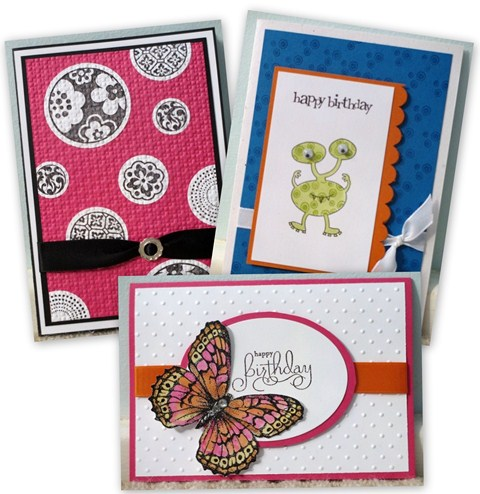 School Holiday Card Making Class Projects