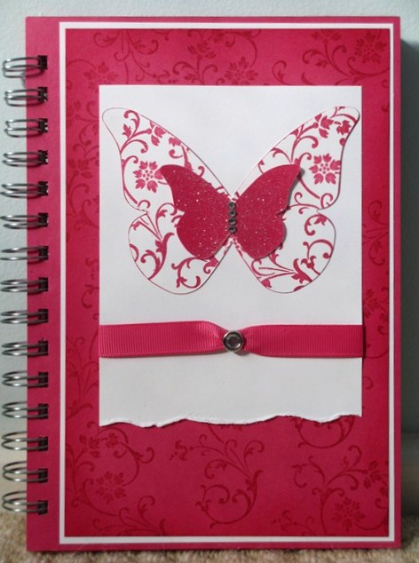 June 2012 stamping alley for Back to school notebook decoration ideas
